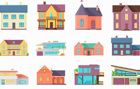 Les différentes formes de maisons