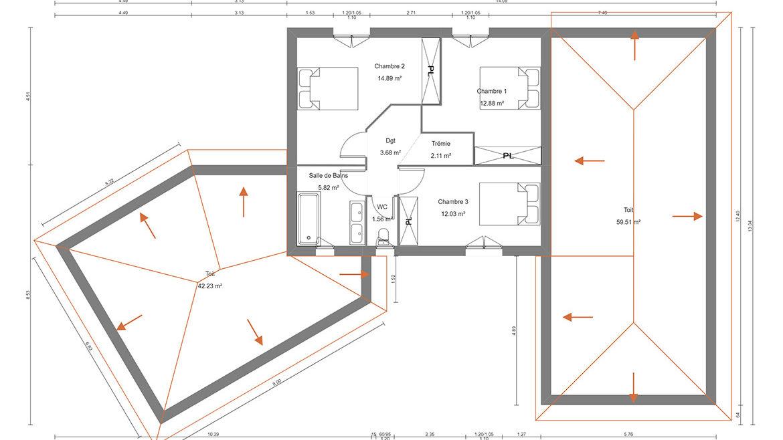 plan maison oracle
